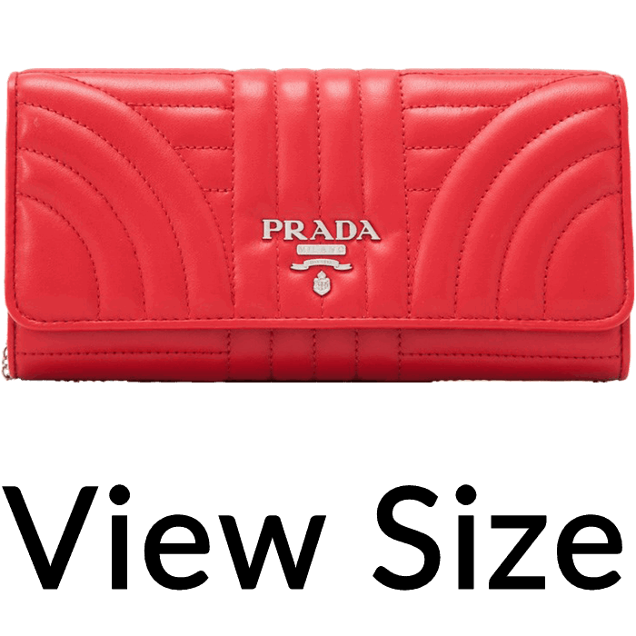 26a552cc96 ... bags dnovo 2a551 2dea4  greece prada soft calf impunture diagramme long  flap wallet reebonz united states 230c9 49dd7